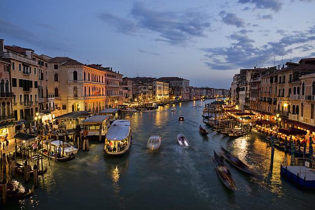 grand canal venice italia