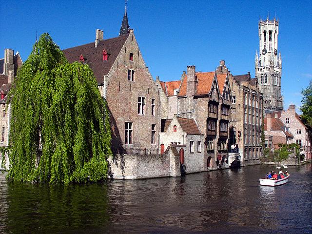 kanal bruges belgia 3