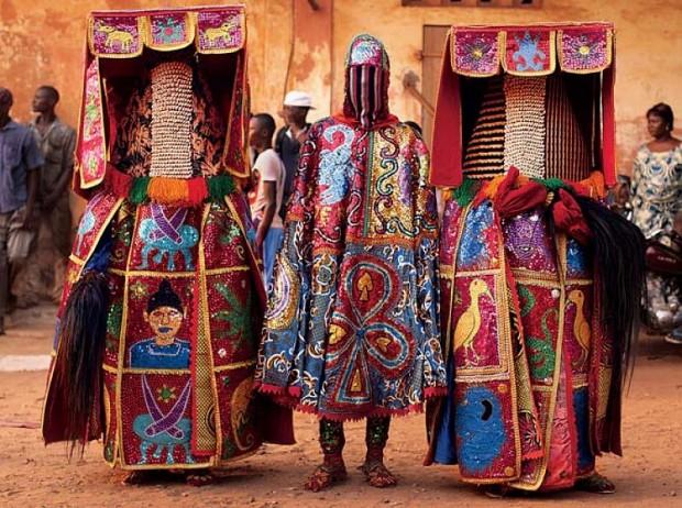 egungun dancer quidah 12