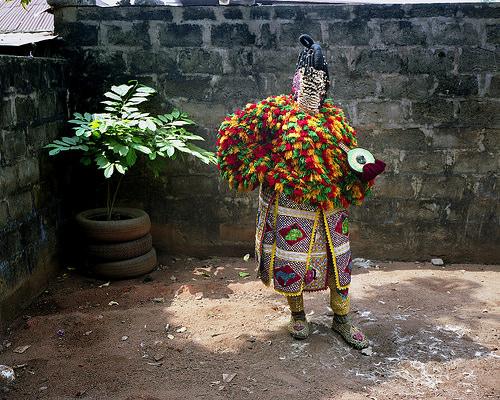egungun dancer quidah 4