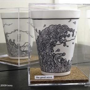 ide kreatif dari barang bekas styrofoam