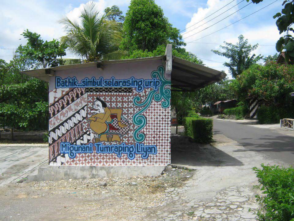 mural kampung indonesia