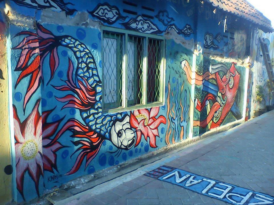 mural kampung indonesia 5