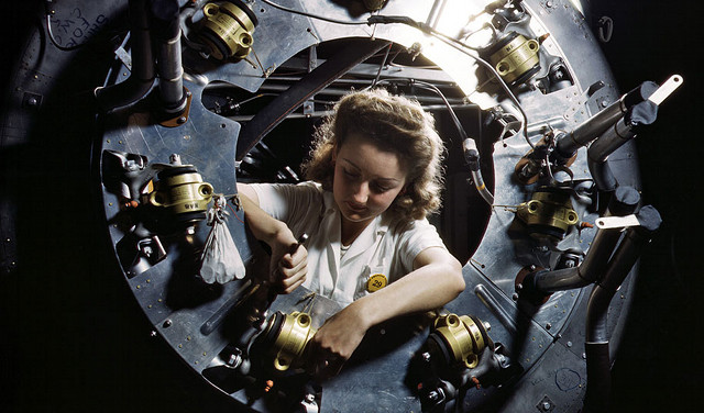 Wanita dalam Perang Dunia II