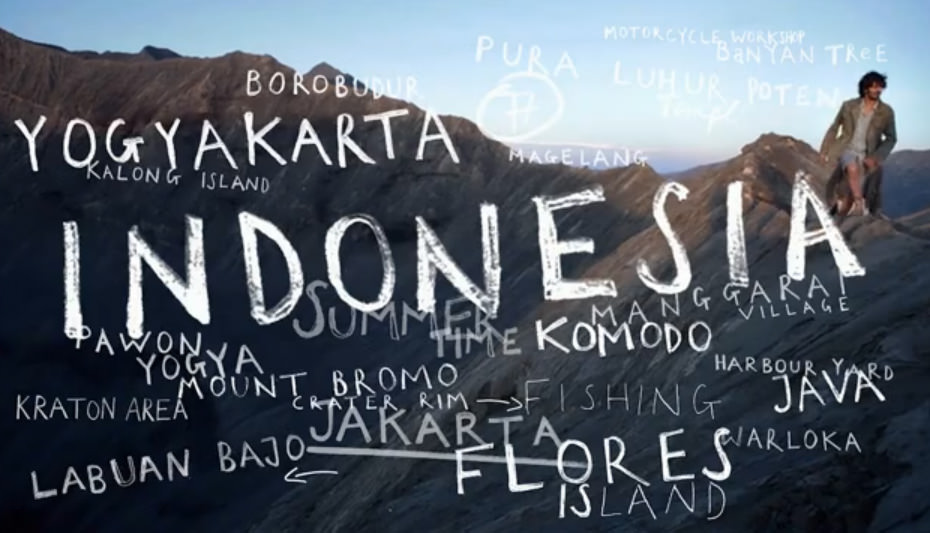 Through Indonesia (Video)