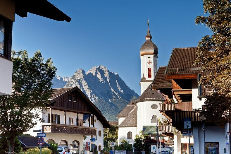 kota indah di alpen jerman 3