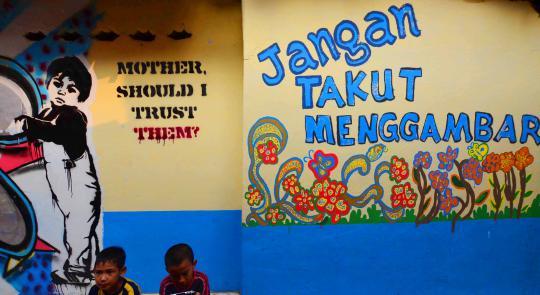 mural kampung indonesia 10