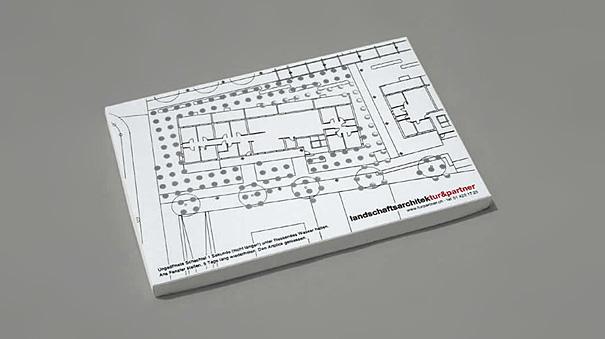 Contoh desain kartu nama kreatif arsitek