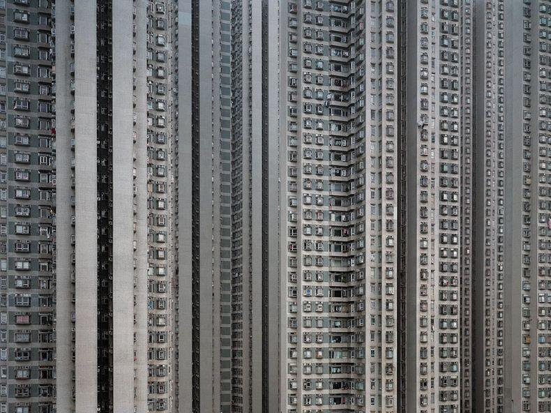 hong kong architecture of density 8