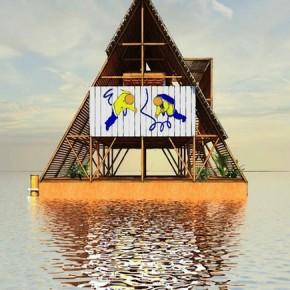 sekolah terapung floating school makoko nigeria