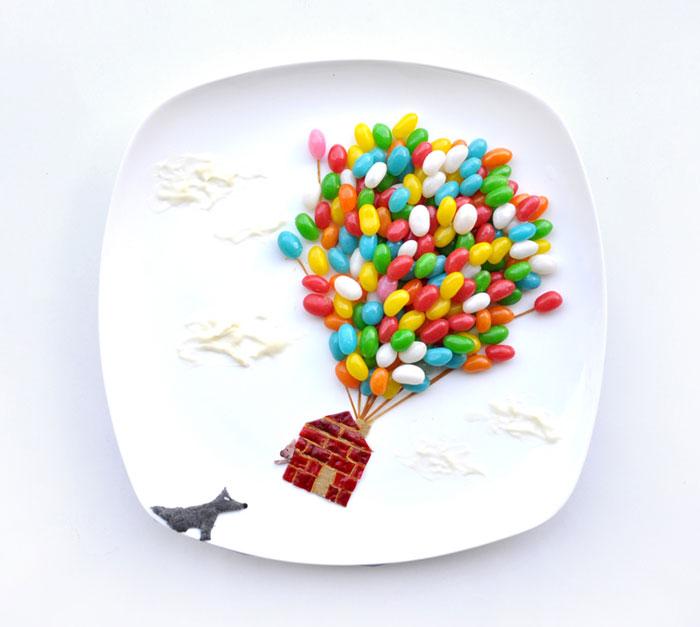 Food Art Project by Hong Yi 09