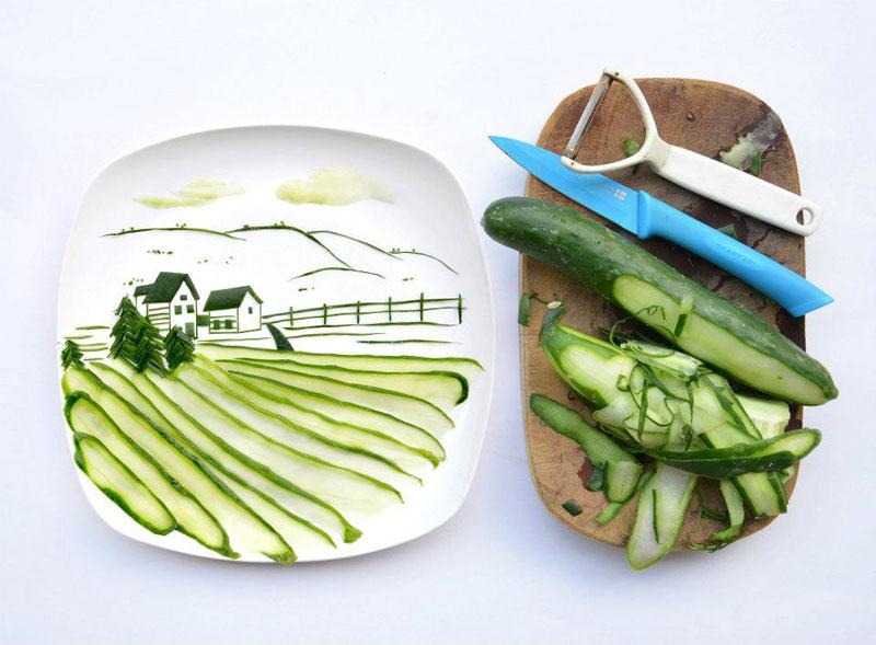 Food Art Project by Hong Yi 10
