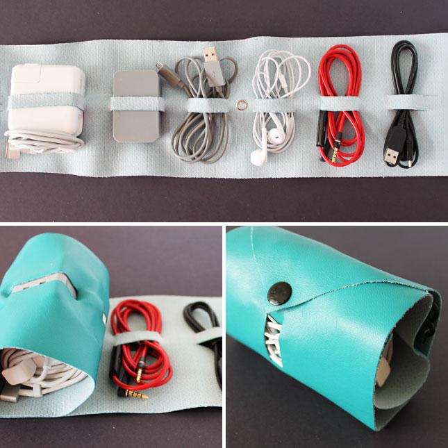 kantong penyimpanan kabel kreatif  11