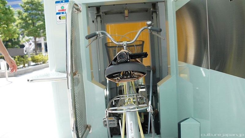 parkir sepeda bawah tanah jepang 10