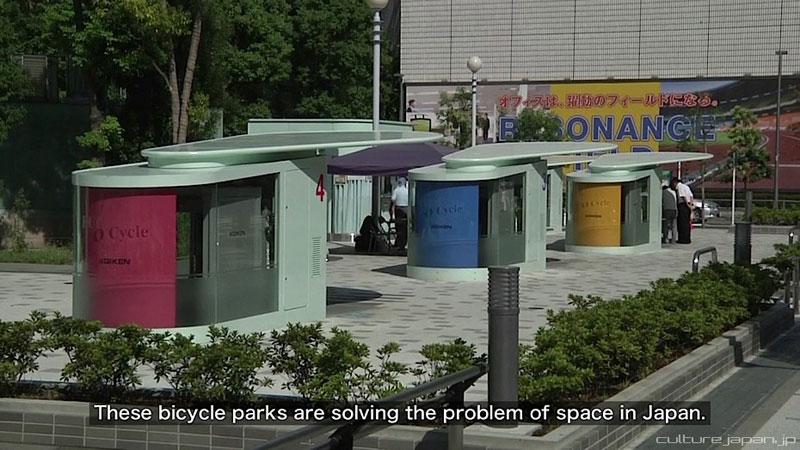 parkir sepeda bawah tanah jepang 14