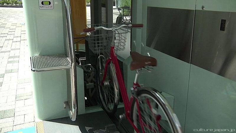 parkir sepeda bawah tanah jepang 9