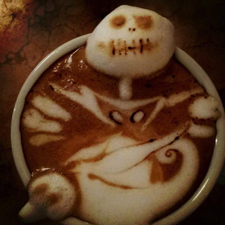 3d coffe latte art 11