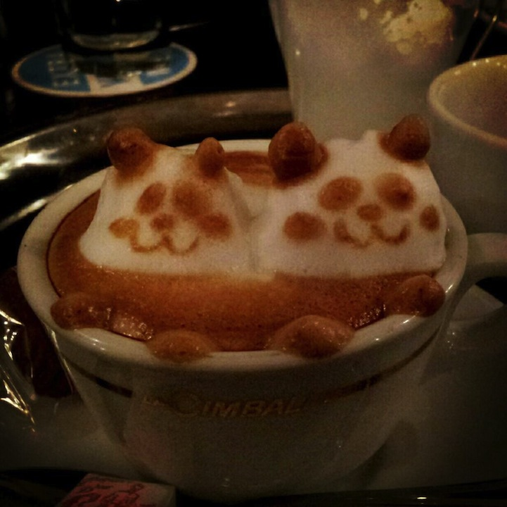3d coffe latte art 8