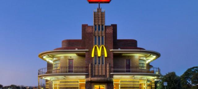 Bangunan Unik Restoran McDonald's dari Berbagai Negara