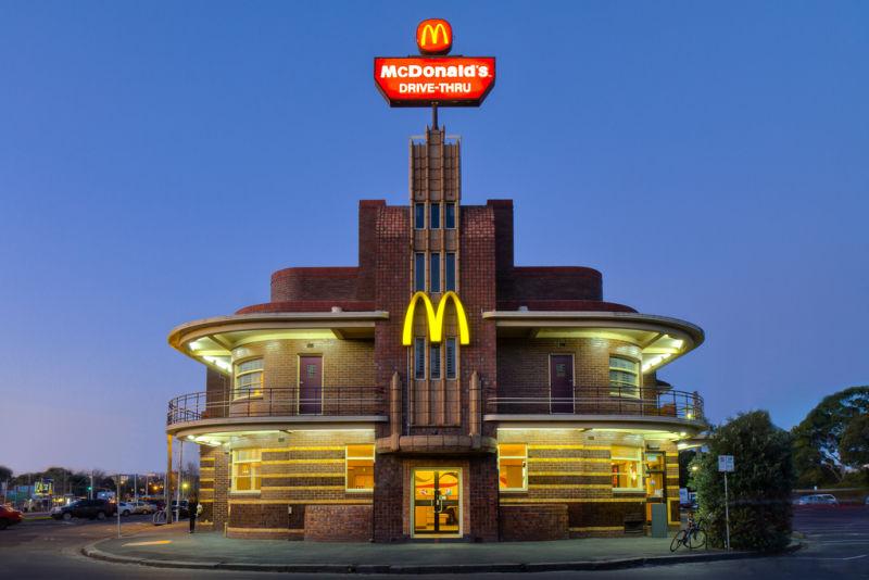 bangunan arsitektur mcdonalds 21