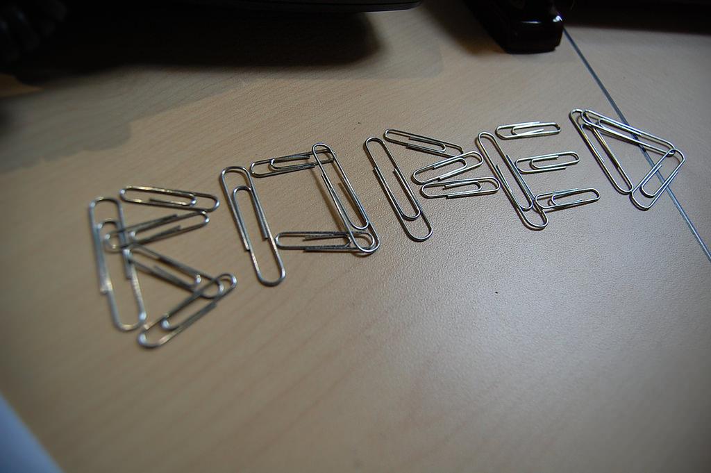 ide kreatif paper clip