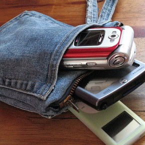 ide kreatif celana jeans bekas