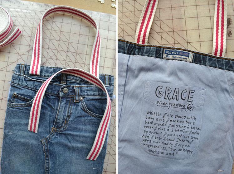 mengolah jeans bekas diy 07