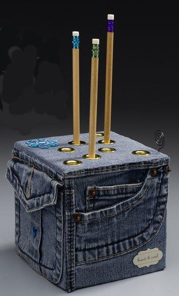 mengolah jeans bekas diy 20