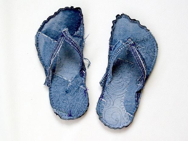 mengolah jeans bekas diy 23