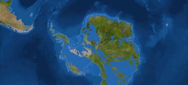 Seandainya Es di Seluruh Planet Bumi Mencair