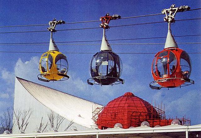 Pameran Terbesar Expo 70 Osaka Jepang 15