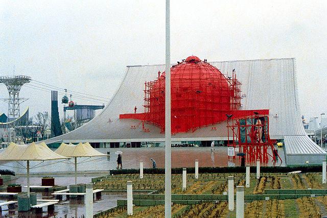 Pameran Terbesar Expo 70 Osaka Jepang Textiles Pavilion