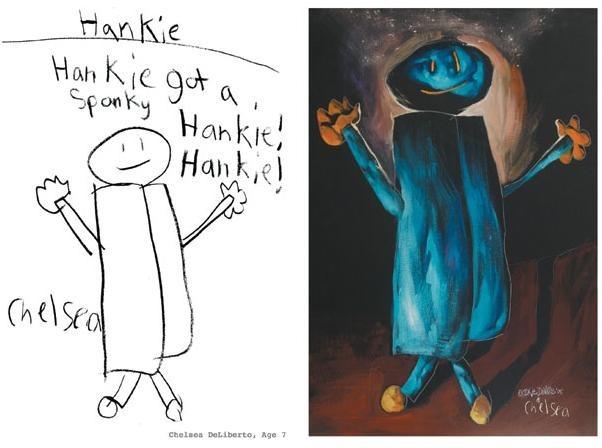 lukisan anak-anak oleh orang dewasa 1