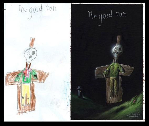 lukisan anak-anak oleh orang dewasa 12