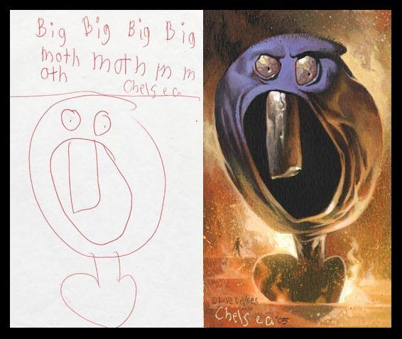 lukisan anak-anak oleh orang dewasa 14