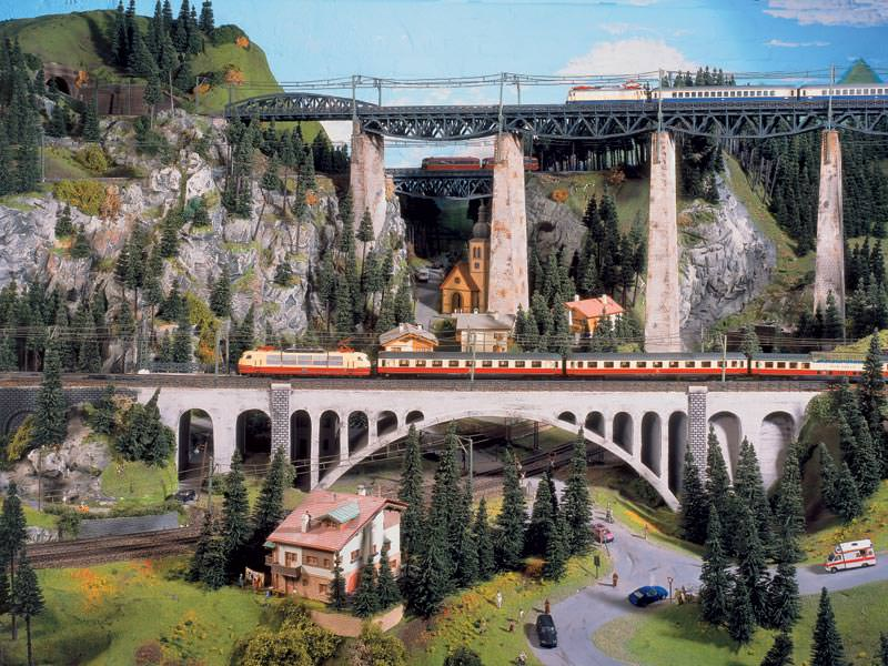 miniatur jalur kereta api miniature wunderland 10