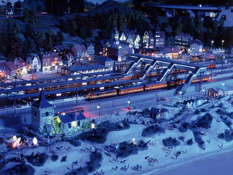 miniatur jalur kereta api miniature wunderland 16