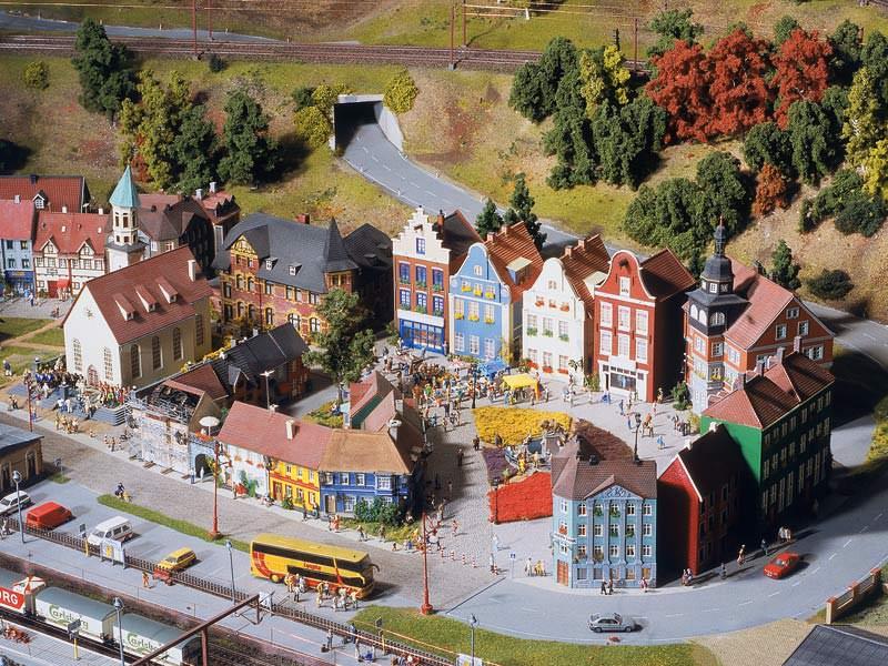 miniatur jalur kereta api miniature wunderland 18