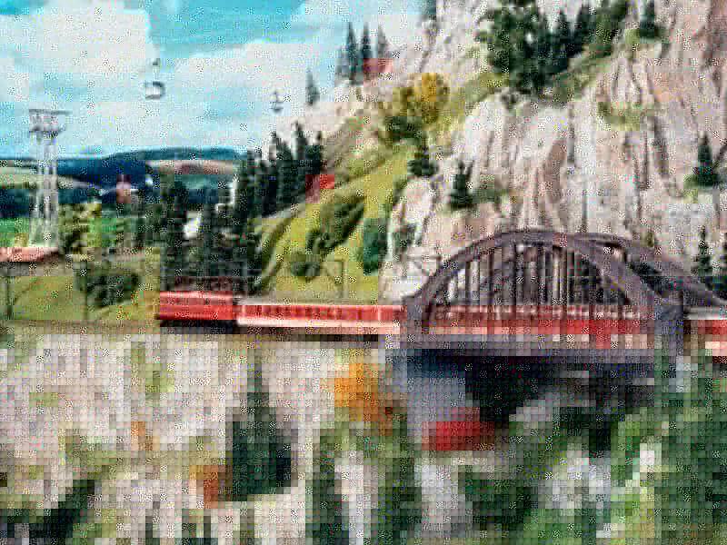miniatur jalur kereta api miniature wunderland 5