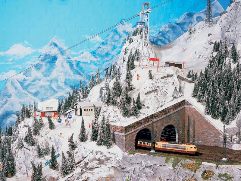 miniatur jalur kereta api miniature wunderland 8