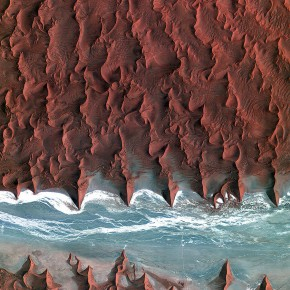 foto luar angkasa satelit esa 12