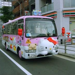 Bus-Bus Sekolah dengan Tampilan Unik di Jepang