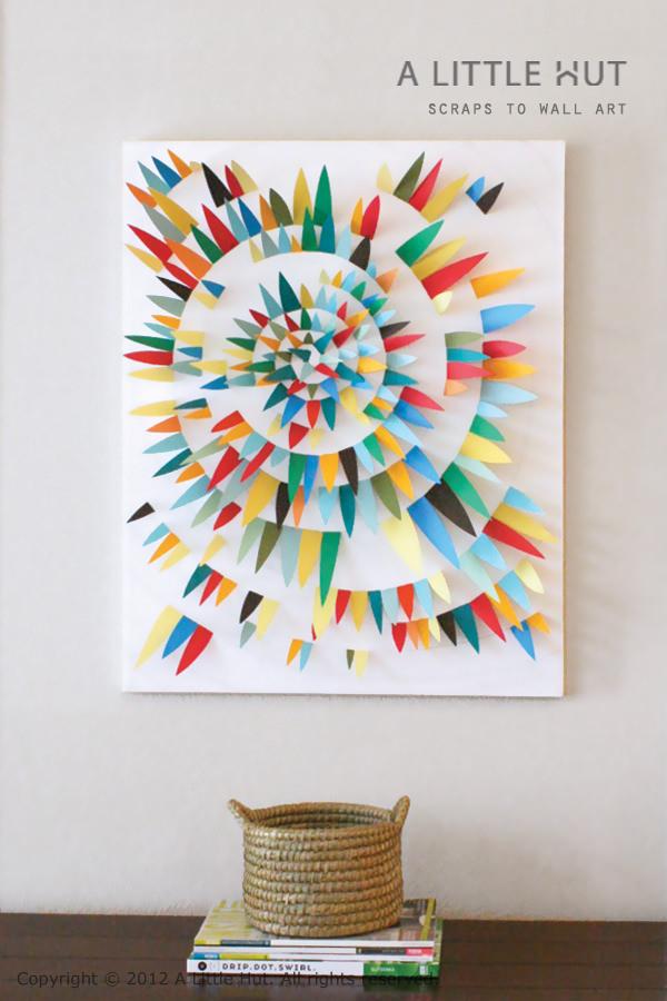 ide kreatif membuat karya seni dari kertas 6