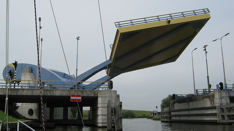 Jembatan Slauerhoffbrug Belanda 1