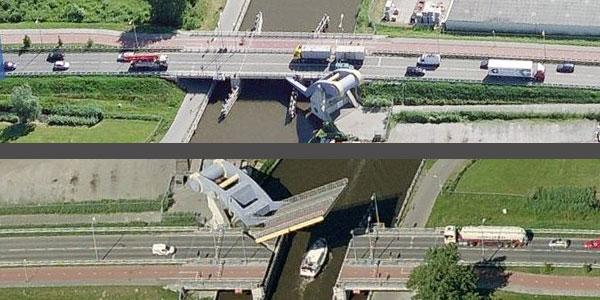 Jembatan Slauerhoffbrug Belanda 10