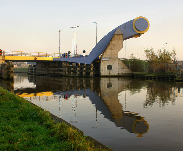 Jembatan Slauerhoffbrug Belanda 2