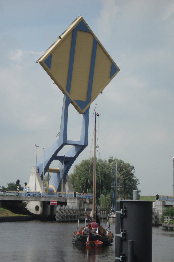Jembatan Slauerhoffbrug Belanda 4