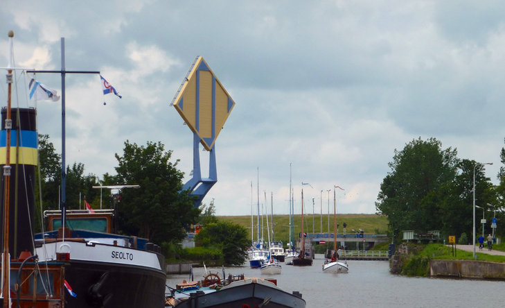 Jembatan Slauerhoffbrug Belanda 7