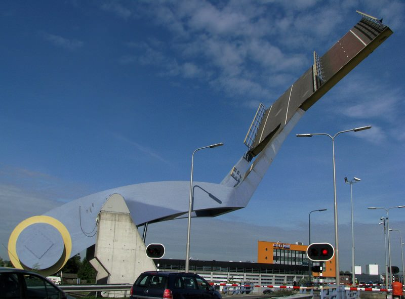 Jembatan Slauerhoffbrug Belanda 8