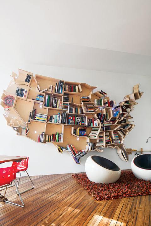 desain_lemari_buku_kreatif_america_map